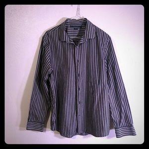 Perry Ellis Mens Dress Shirt